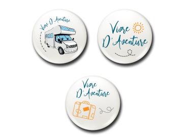 Badges  Lot Voyageur