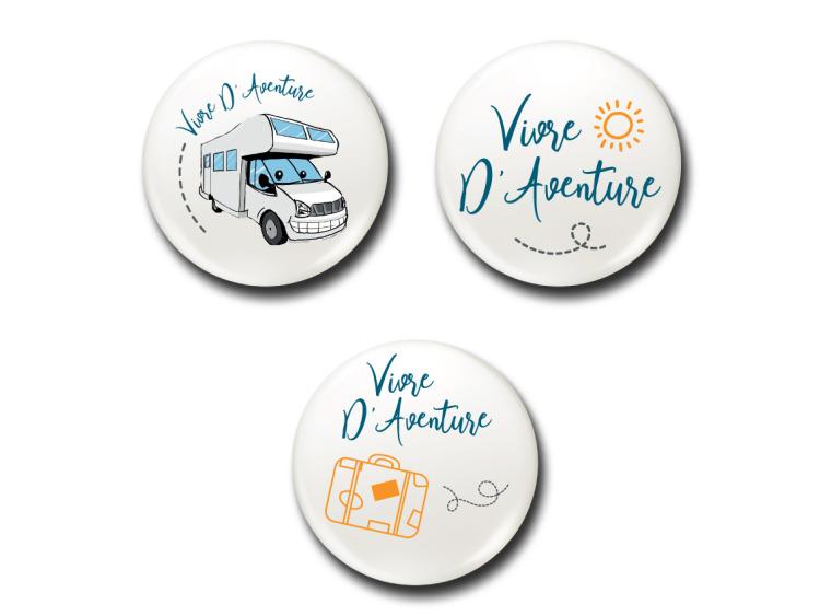 Badges - Lot Voyageur