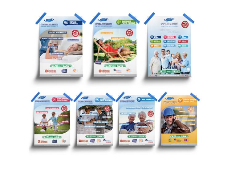 Kit affiches A3